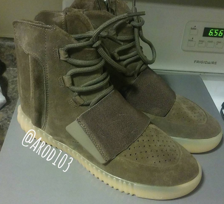 5487e251b adidas Yeezy Boost 750  Brown  - Release Date