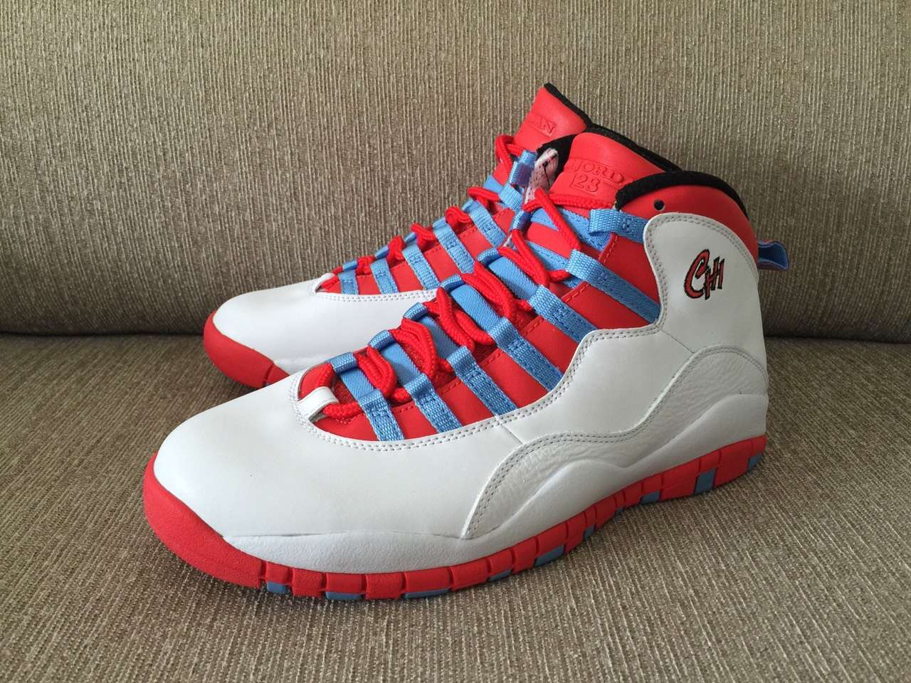 fa4ab2ee53a5 Air Jordan 10 Retro  Chicago  Inspired By City s Flag