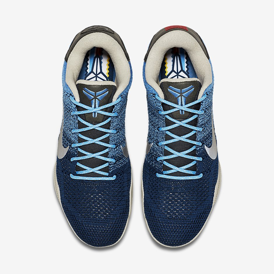 761e5c5c1722 Check Out Official Pictures For The  Brave Blue  Nike Kobe 11