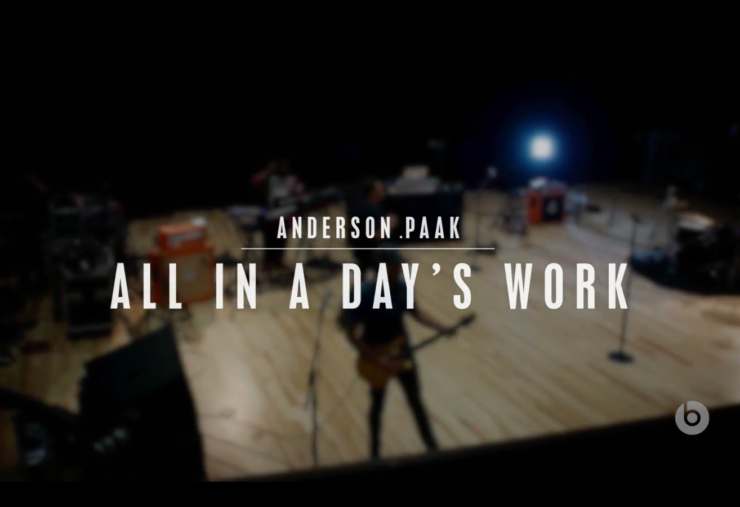 Anderson .Paak All In A Day's Work