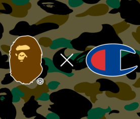 Bape x Champion