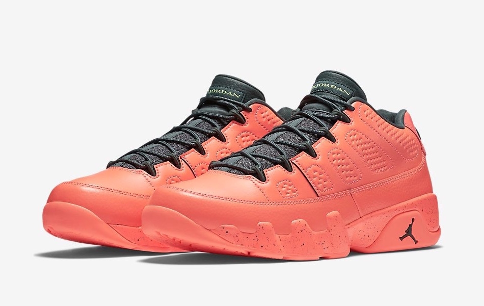 c12b15de01a4 Air Jordan 9 Retro Low  Bright Mango  - Release Date