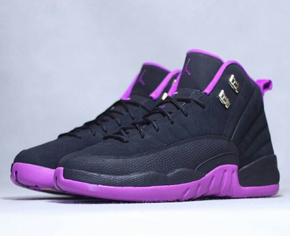 new concept 92e7f 1e697 Air Jordan 12 Retro GS Hyper Violet ...