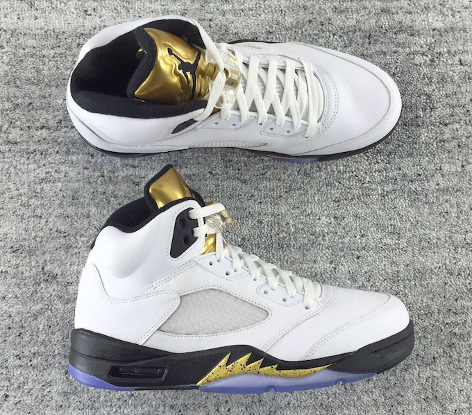 on sale 3fea3 2add4 Air Jordan 5 Retro 'Olympic' Goes For Gold This August | Def Pen