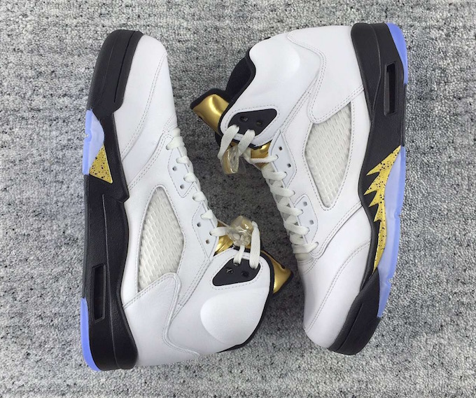 e8a250b40004 Air Jordan 5 Retro  Olympic  Goes For Gold This August
