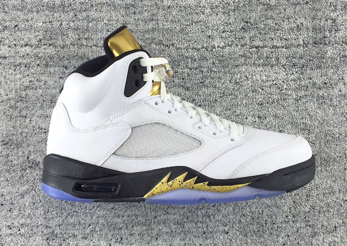 65ee31cc98e213 Air Jordan 5 Retro  Olympic  Goes For Gold This August