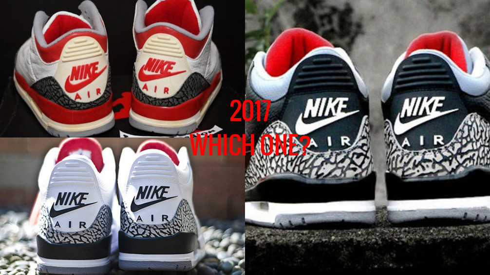 new product 5e90a 2680c There Are More 'Nike Air' Air Jordan 3's Coming In 2017 ...