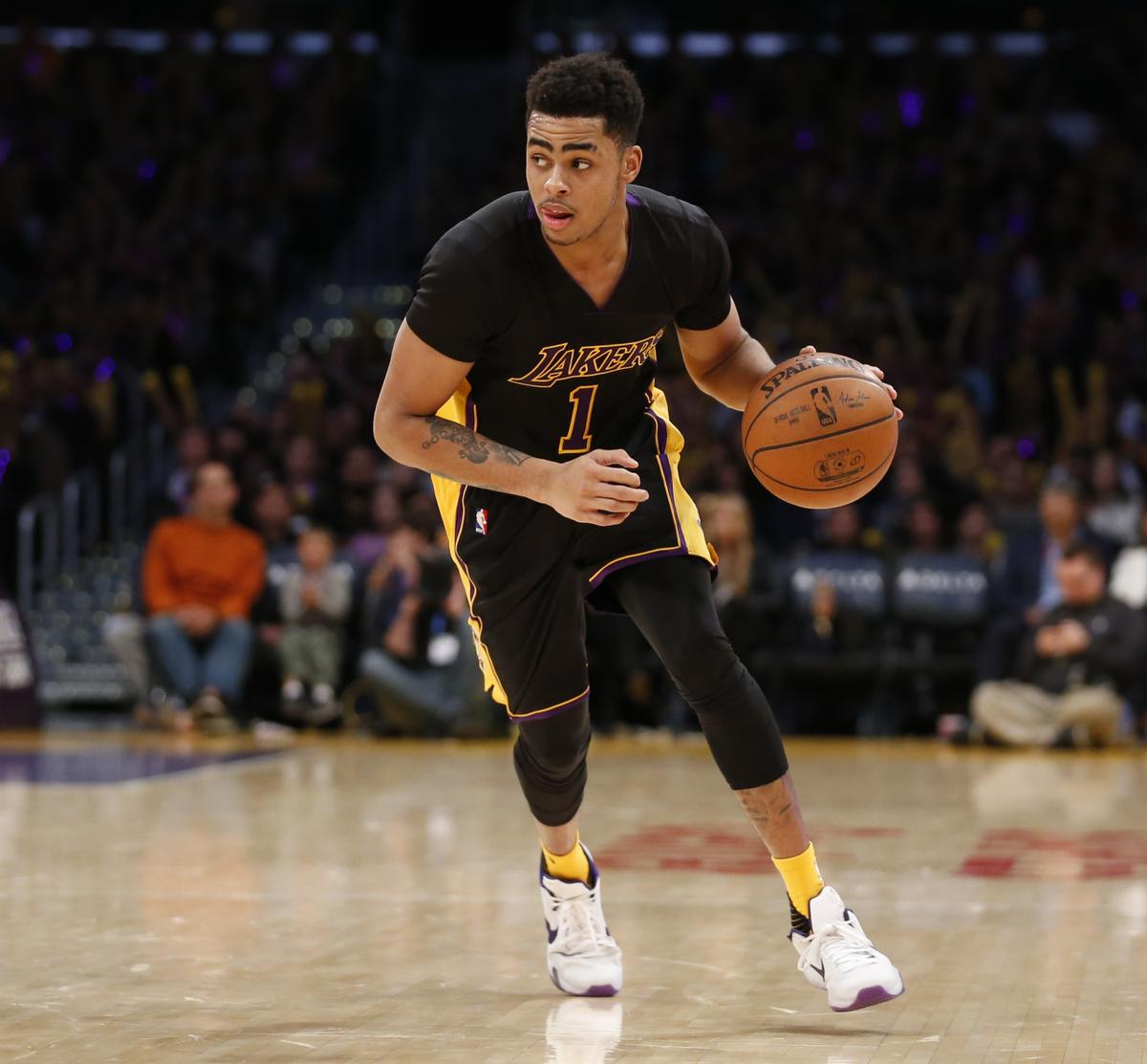 D'Angelo Russell - AP Photo/Danny Moloshok
