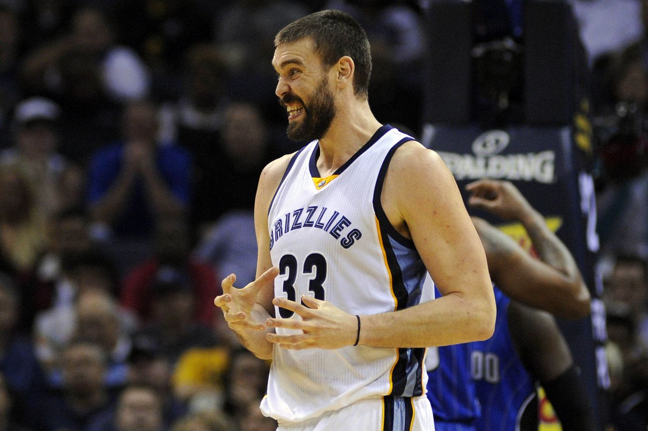 Marc Gasol - Justin Ford/USA TODAY Sports
