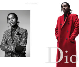 A$AP Rocky for Dior Homme