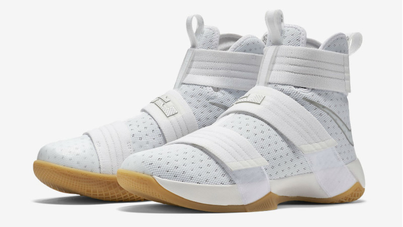 new styles 05999 3b4f3 Nike Zoom LeBron Soldier 10 'White Gum' Set To Release In ...