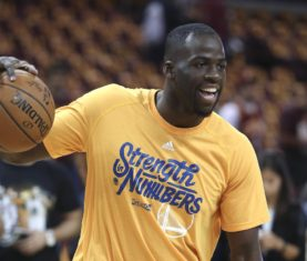 Golden State Warriors forward Draymond Green  (AP Photo/Ron Schwane)