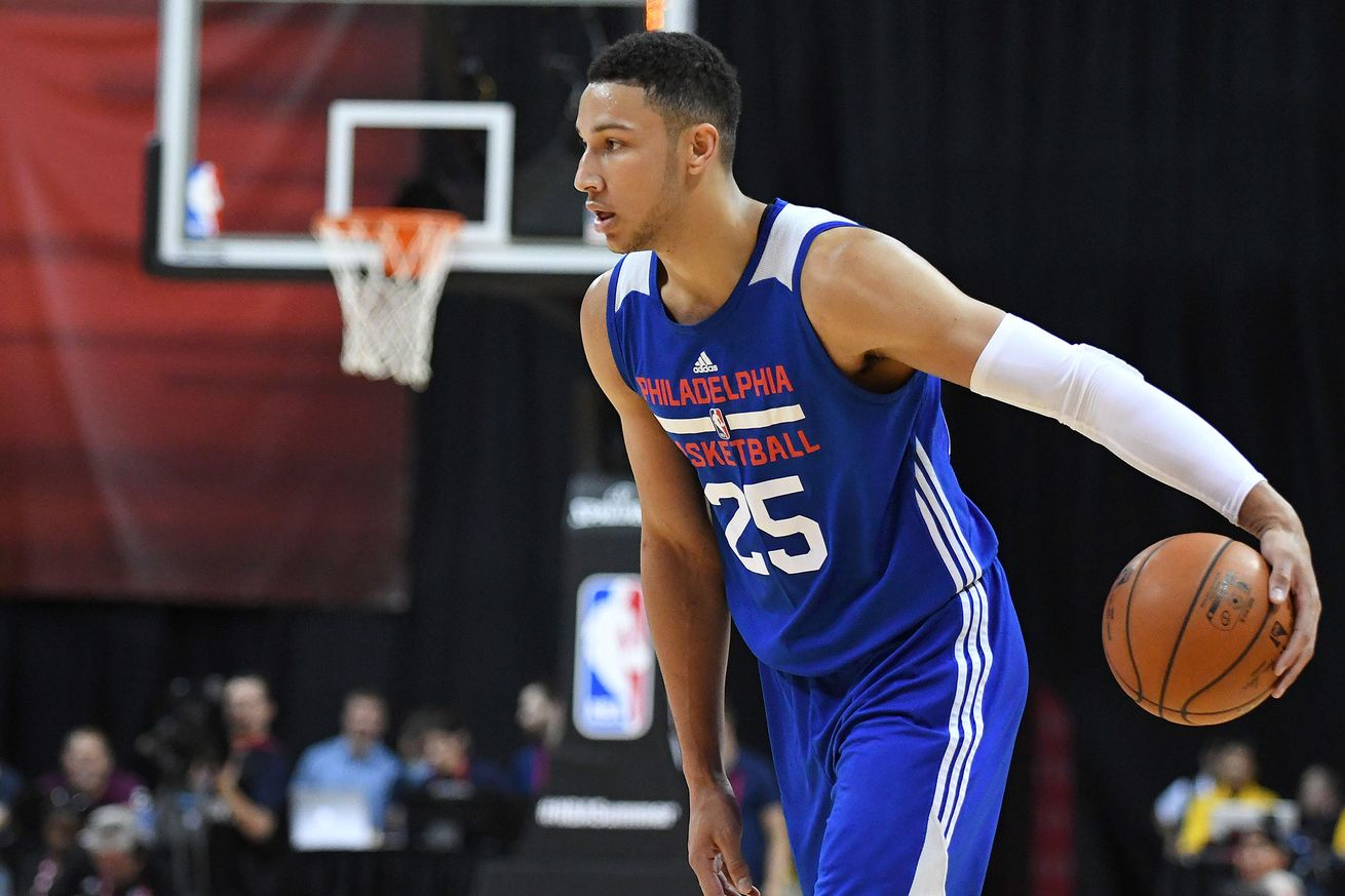 Ben Simmons - Stephen R. Sylvanie-USA TODAY Sports