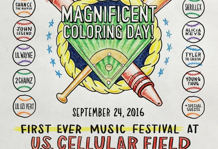 Chance The Rapper Magnificent Coloring Day
