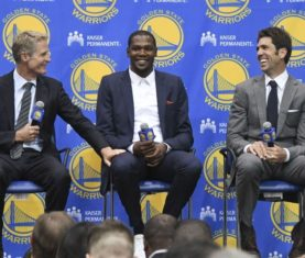 Kevin Durant - Kyle Terada-USA TODAY Sports