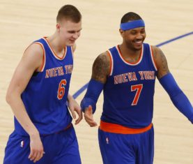 Kristaps Porzingis - Noah K. Murray-USA TODAY Sports