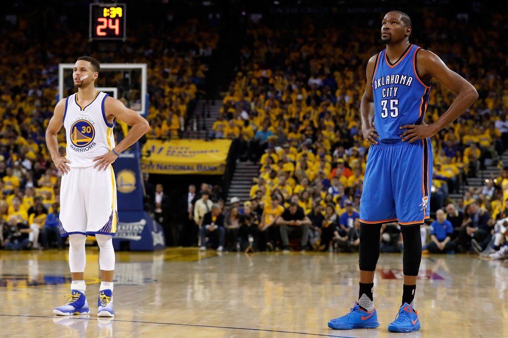 87e0df4c986 Stephen Curry Won t Be Changing His Game Because Of Durant - Def Pen