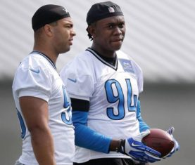 Ziggy Ansah Lions Training Camp