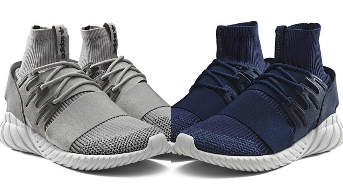 a8bc8371d30c adidas Tubular Doom PK to Release in  Navy     Grey
