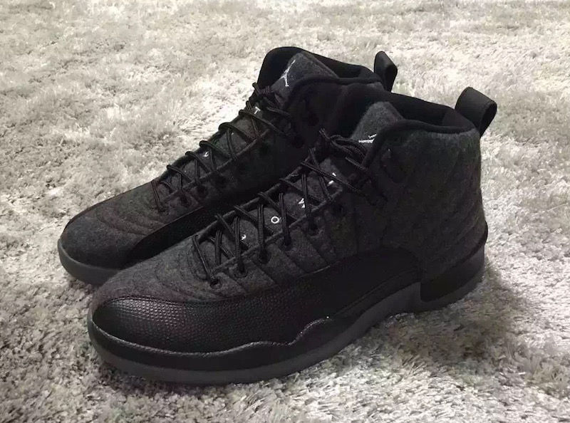 0a0bd152ed732f Official Pictures Surface For Air Jordan 12 Wool Releasing This ...