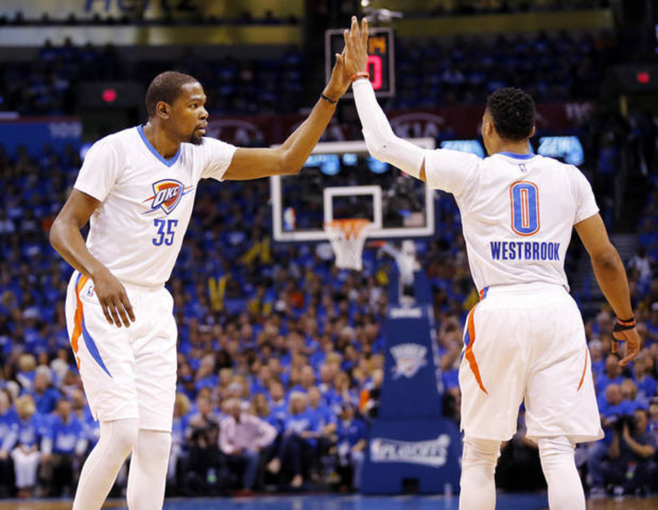 7615e615eeb9 Kevin Durant Calls Russell Westbrook His Brother
