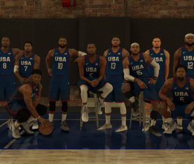 2016 Team USA Basketball in NBA 2k17 (2K Sports)