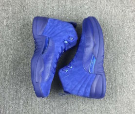 Air Jordan 12 Blue Suede 2