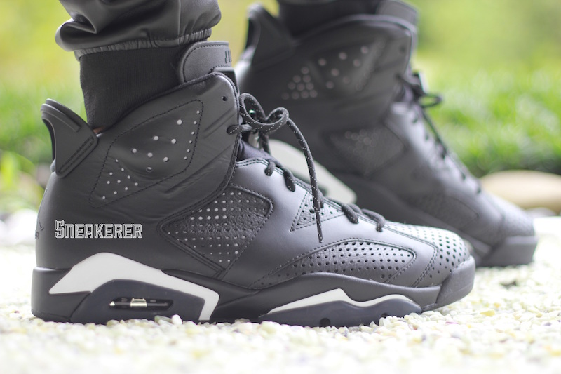 release date aee9c 4f1c5 Here's How The Air Jordan 6 Retro 'Black Cat' Looks On Feet ...