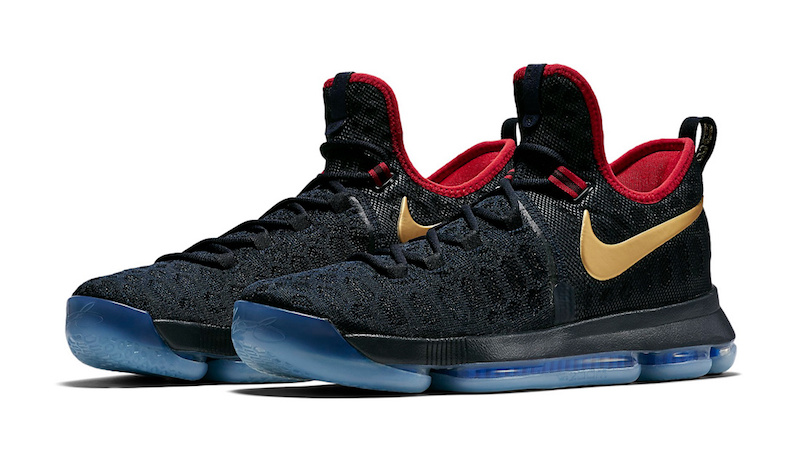 reputable site d800f 9cff5 Nike KD 9 Gold Medal
