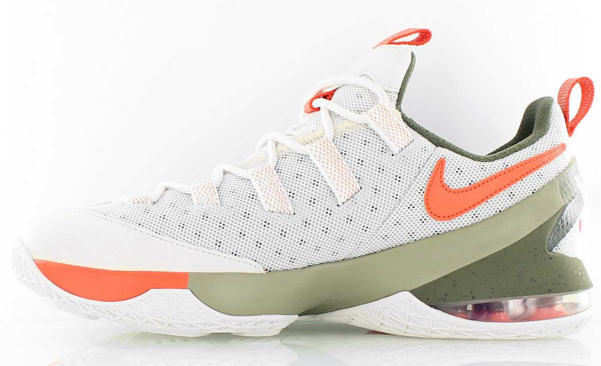 Olive and Orange Highlight This Nike LeBron 13 Low | Def Pen