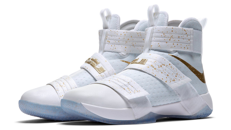 d3c1ec57db16 Nike Zoom LeBron Soldier 10  Gold Medal  - Official Pictures