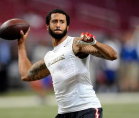 Colin Kaepernick (Michael B. Thomas/Getty Images)