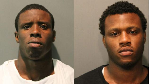 Darwin Sorrells Jr., left, and Derren Sorrells, right, were charged with first-degree murder in the shooting of Nykea Aldridge, cousin of Chicago Bulls guard Dwyane Wade. (Photo: Chicago Police Department).