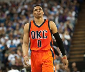 Russell Westbrook (Ed Szczepanski-USA TODAY Sports)