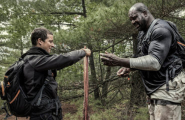 Bear Grylls and Shaquille O'Neal (NBC)