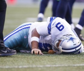 Tony Romo (Joe Nicholson-USA TODAY Sports)