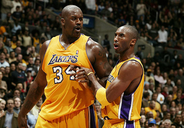 a comparison between kobe bryant and shaquille oneal two of the greatest basketball players of their