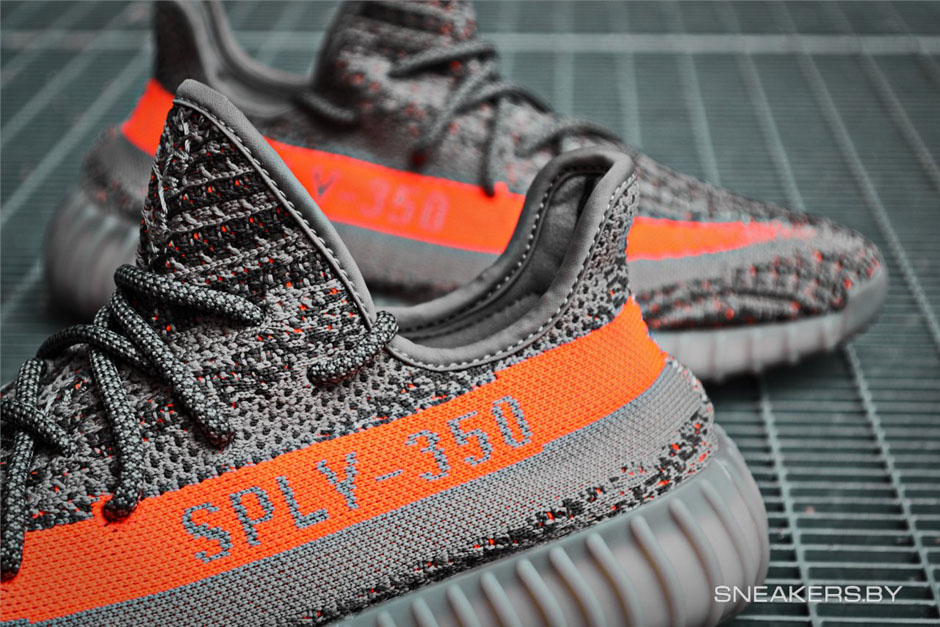 High Tops Yeezy boost 350 V 2 'Zebra' sply 350 solar red white stripe