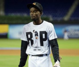 Dee Gordon (Photo via Marlins)