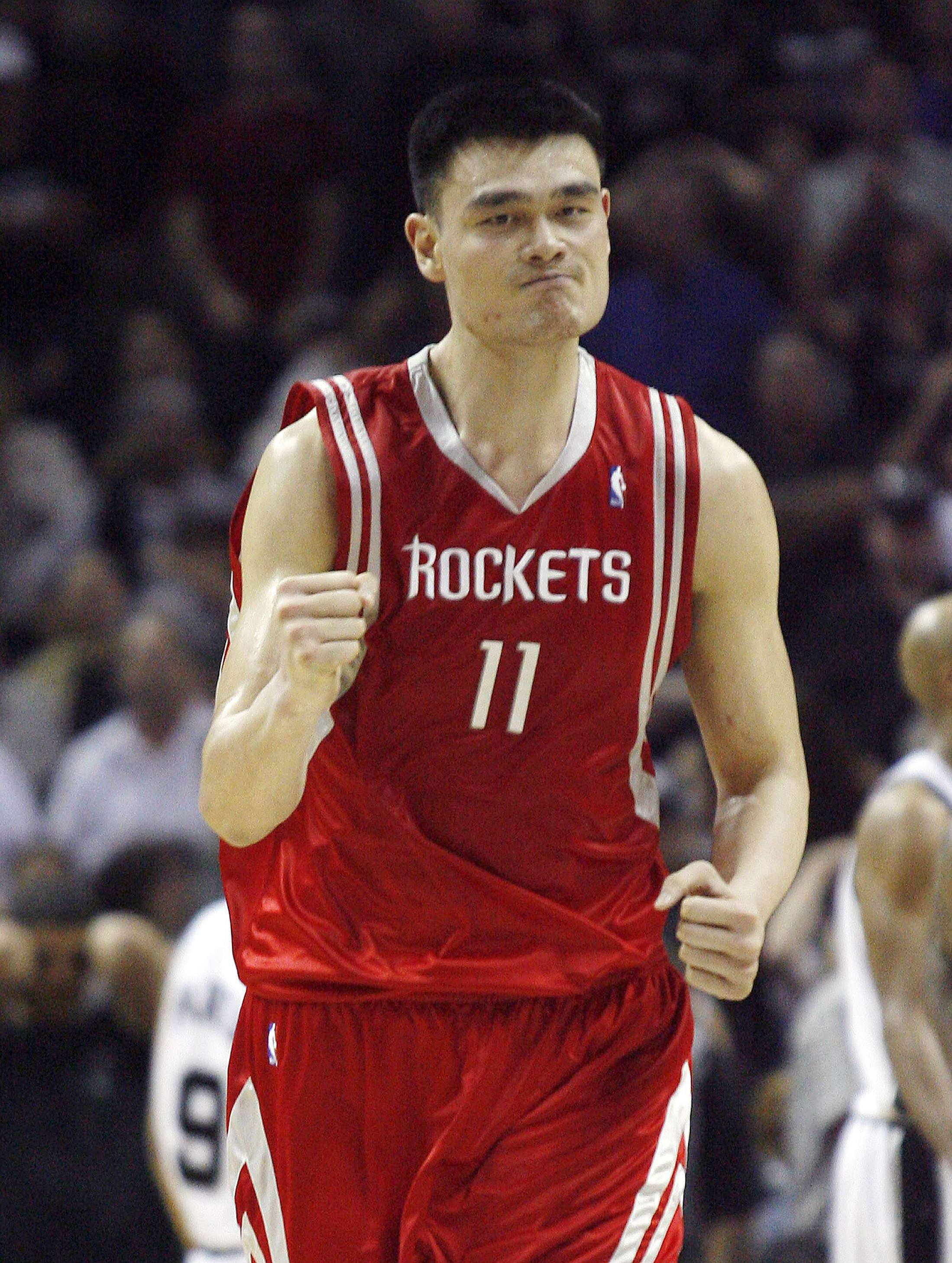 768740978c2f Rockets To Retire Yao Mings Jersey February 2 Def Pen .