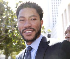 Derrick Rose (AP Photo/Nick Ut)