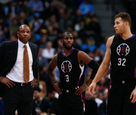 Doc Rivers, Chris Paul and Blake Griffin (Isaiah J. Downing-USA TODAY Sports)