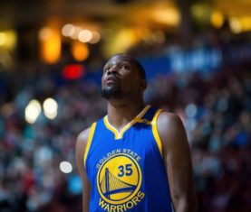 Kevin Durant (Darryl Dyck/The Canadian Press via AP)
