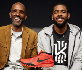 Drederick Irving and Kyrie Irving (Photo via Nike)