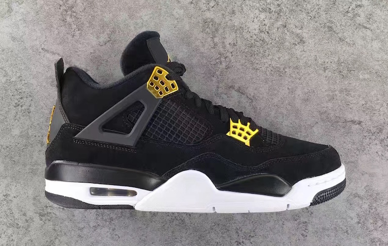 0367bd367f9 Latest Detailed Pictures For Air Jordan 4 Retro  Royalty  Debuting ...