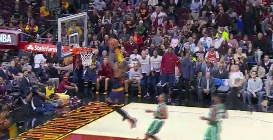 VIDEO: Kyrie Irving Throws Alley-Oop To LeBron James Off ...