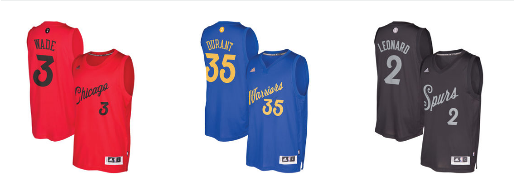 Official 2016 NBA Christmas Day Jerseys Are Available | Def Pen
