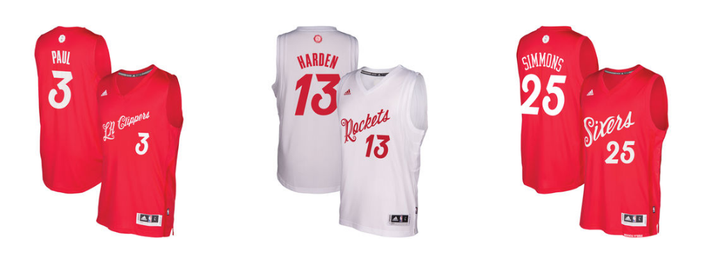 Official 2016 NBA Christmas Day Jerseys Are Available ...