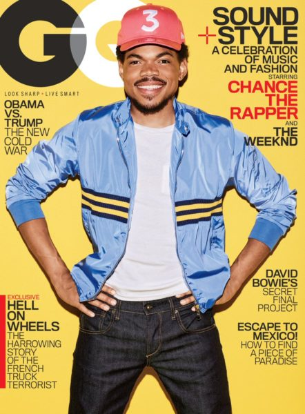 Chance The Rapper GQ Magazine Cover