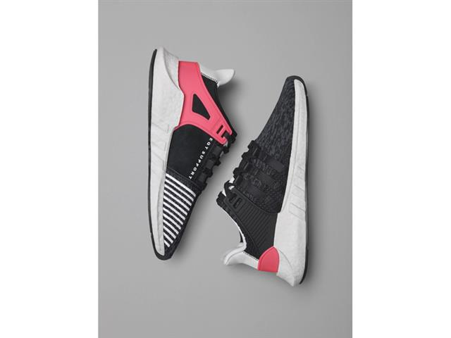 adidas EQT Running Support 93 Shoes Black adidas adidas NZ